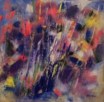 Abstract: acrylic on canvas by zampedroni