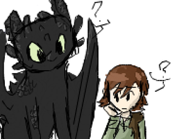 Toothless is watching you by sailor663