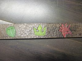 Leather Fandom Logo Belt 5 by marauderfaze