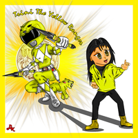 Trini the Yellow Power Ranger by DK-DarkKitty