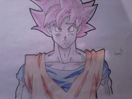 goku super saiyan god by shadowvid55
