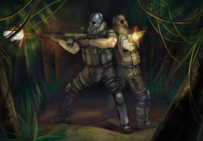 Army of Two by lGSG-9Sniper01