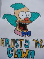 The Simpsons - Krusty the Clown by Toad-x-Yoshi-x-Peach