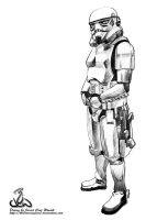 Star Wars IV : Storm Trooper by thelearningcurv