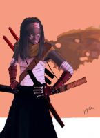 Michonne Alternate Outfit by THE-SEXY-BEAST