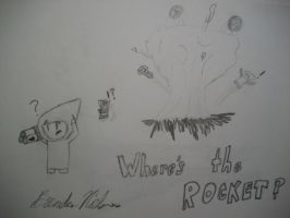 Where's the Rocket? by derikvyreflame