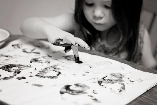 Finger painting by wallynme