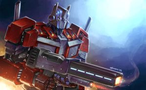 Optimus Prime by Novanim