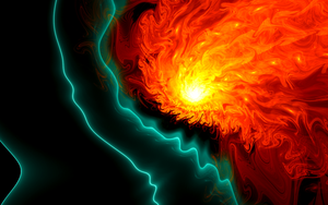 Lava Flow by Fractamonium