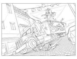 Big Trouble in Little China 13 page 4 and 5 by Supajoe
