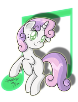 Smiling Sweetie Belle! by DANMAKUMAN