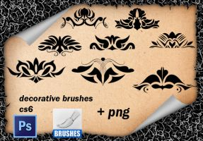 Decorative Brushes 06 by roula33