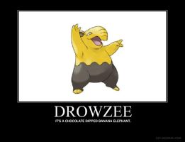 Drowzee motivational by BubbaYoshi