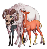 Friends by ResidualHaunt