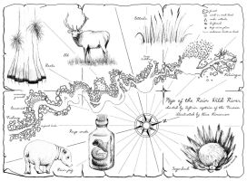 Map of the Rain Wild River by Crooty