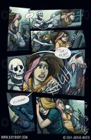 Kay and P: Issue 14, Page 23 by Jackie-M-Illustrator
