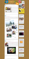 Interface do meu Blog by EvelynRegly