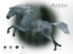 Character Sheet - Aspen by Misted-Dream