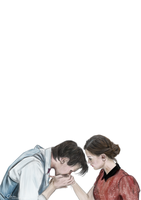The Doctor and Clara by suanlee
