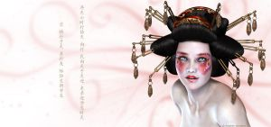 Geisha by Digitally-Devious