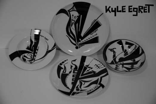 Porcelain Series 'Constellation 4' by Kyle Egret by KyleEgret