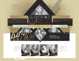 FS layouts: GLAM (GIRLs be AMbitious) by heartcapsule