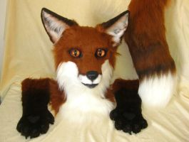 Red Fox Partial AUCTION! by MaewynShadowtail