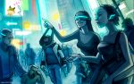 THE WORLD OF TOMORROW YESTERDAY by alexiuss