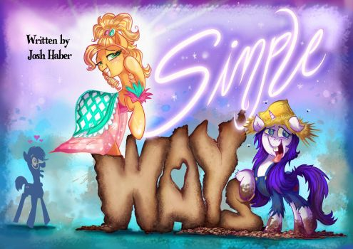 Jewels and Mud :FIM title cards series by Jowybean