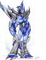 Ghostblade - tfp oc by winddragon24