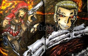 RE5 2pg Sheva and Wesker by Chibi-Goddess-Ny