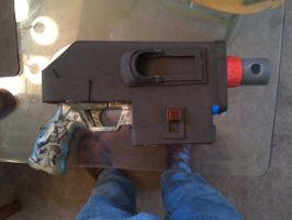 Inquisitor WIP:  Bolter 01 by Bag-of-hammers