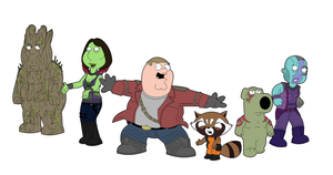Family Guy - Guardians of the Galaxy by adsta