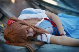 Asuka is dead by Karenscarlet