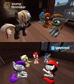 [DL] (FO:E) Main characters colts and fillies ver. by Stefano96