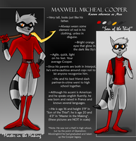 Max Cooper Ref by The-masked-ottsel