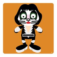 Peter Criss by striffle