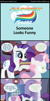 Rainbow Tales: Someone Looks Funny by Narflarg
