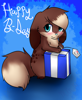 .:pc:. happy b-day owo by Mindy-cupcake