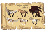 Adventure Explorer Adopts 2 by TehPage