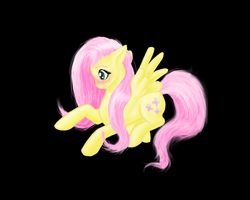 Embarassed Fluttershy by cathykitcat