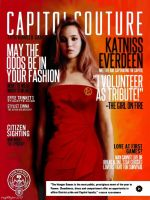 CAPITOL COUTURE: Katniss Everdeen by icaughthejazz