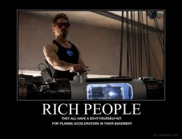 Demotivational: Rich People by Lorol