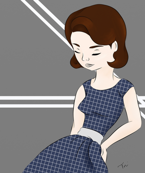 50s Dress by ToriMay