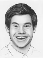 Adam DeVine Workaholics Fan Art by Olechka01