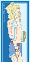 Atlantean Vexen Bookmark by jaubrey