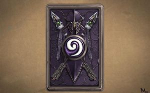 Night Elf Card Back by Emelart