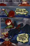 Defying Gravity Page V by Golden-Trio