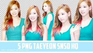 5 PNG Taeyeon SNSD by Byun Pie by ByunPie27