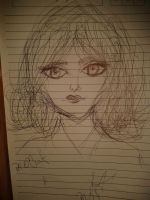 Lovely face Sketch by Paoloid